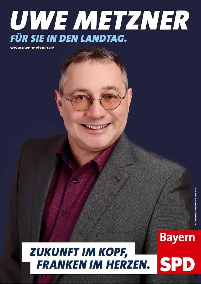 Plakat Uwe Metzner Landtag 2018